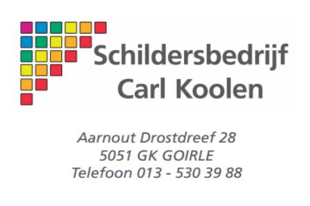 Schildersbedrijf Carl Koolen